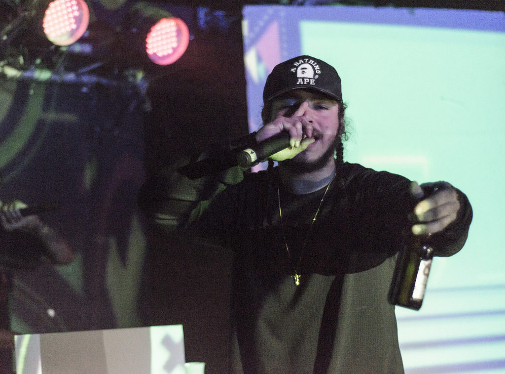 Post Malone embraces the deeper emotions of a 'Rockstar' on