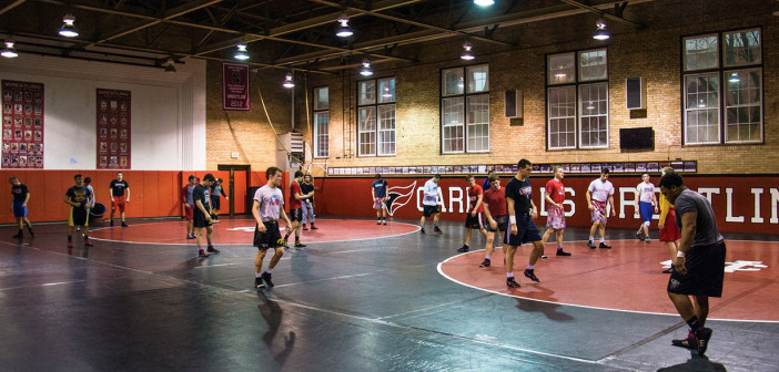 First-year athletes fill wrestling roster